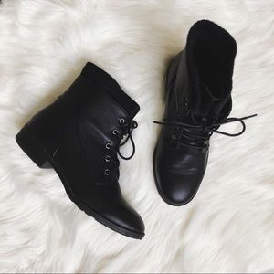 "The ""Pearce"" Black Bootie"